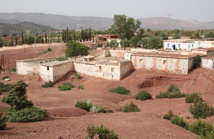 The ancient jewish Anraz village Anraz